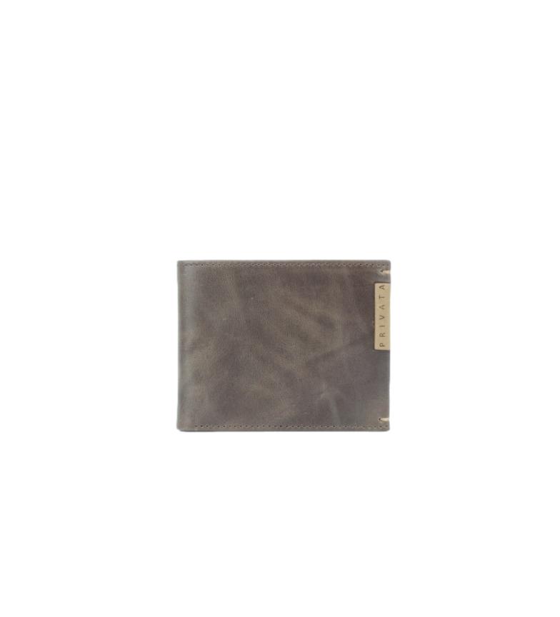 Comprar Privata Portafoglio in pelle MHPR20192 marrone -8,5x10,5x1cm-