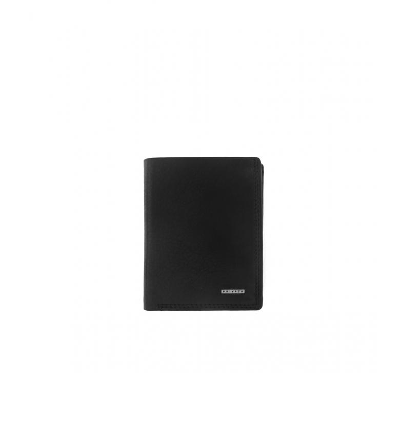 Comprar Privata Portafoglio in pelle MHPR11498 nero -11x8,5x1cm-