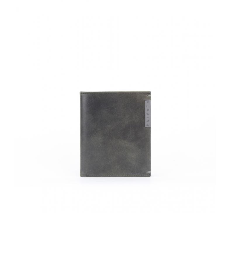 Comprar Privata Portafoglio in pelle MHPR20128 nero -10,5x8,5x1cm