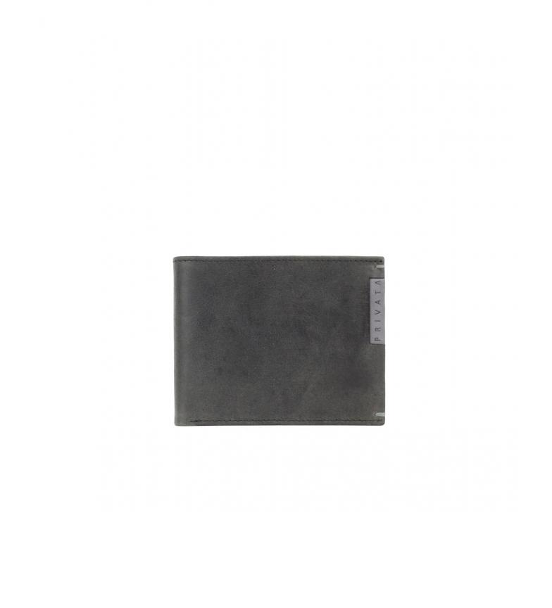 Comprar Privata Portafoglio in pelle MHPR20186 nero -8,5x10,5x1cm-