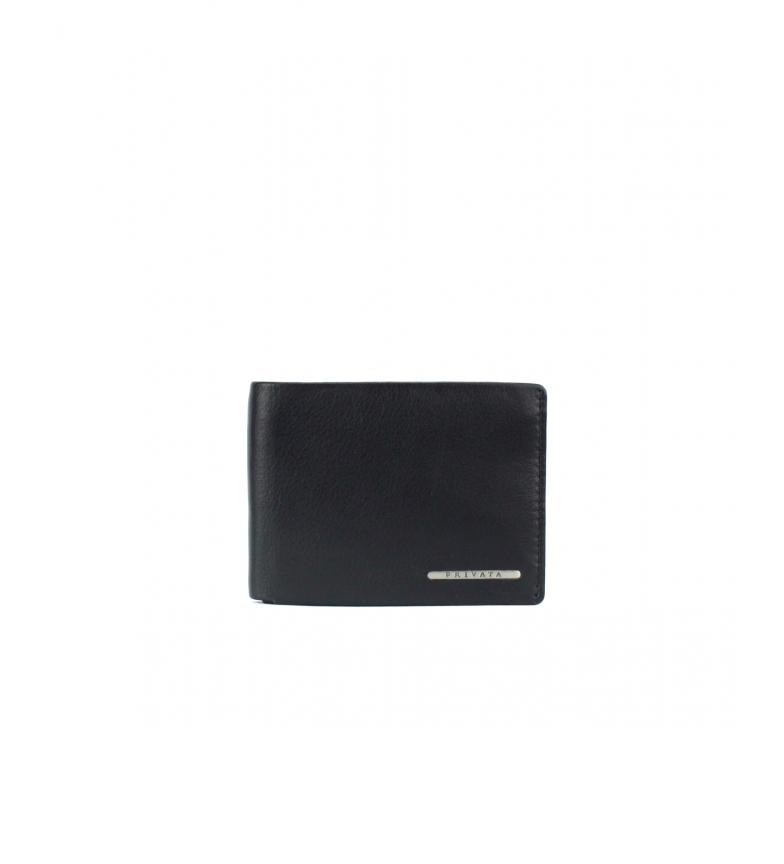 Comprar Privata Portafoglio in pelle MHPR82086 nero -8x11x1cm-