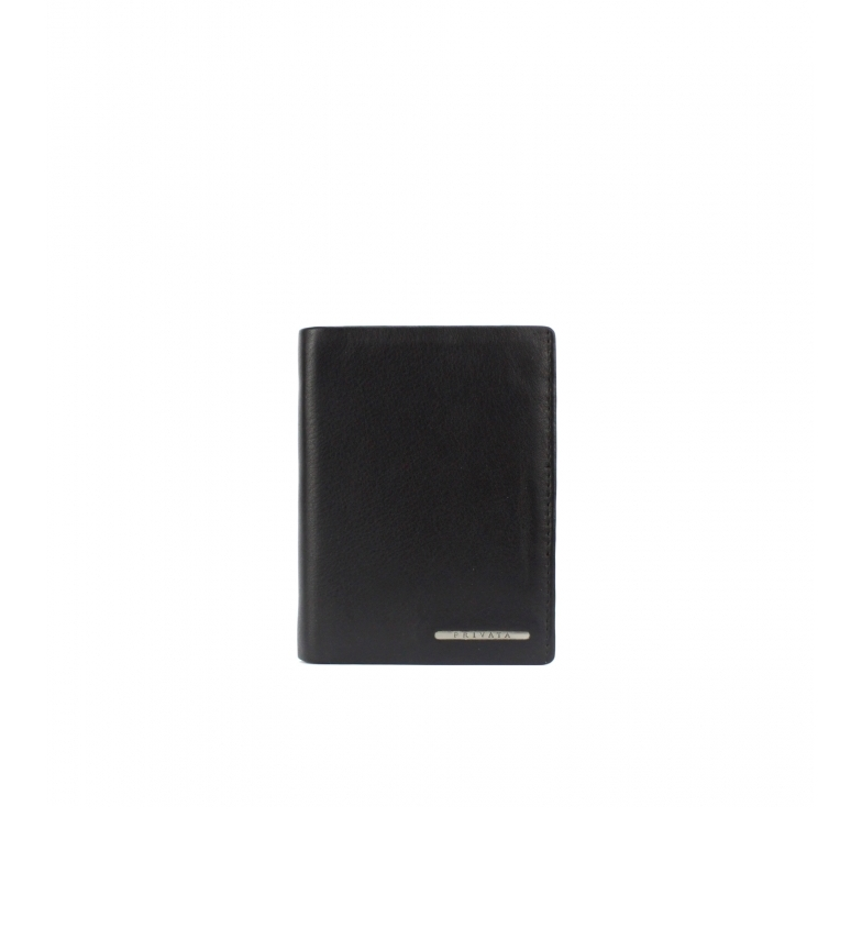 Comprar Privata Portafoglio in pelle MHPR82090 nero -12x9x1cm-