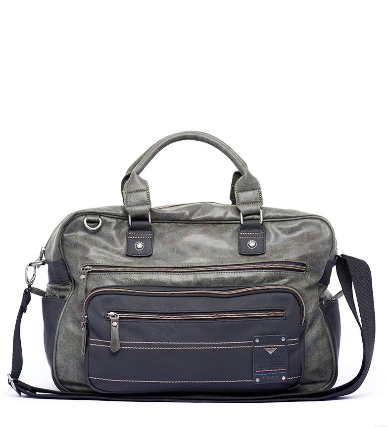 Comprar Privata Khaki Switch travel bag -28x38x18cm-