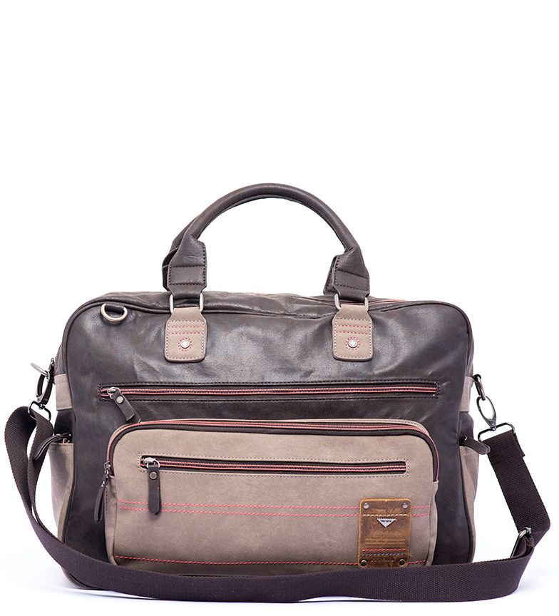 Comprar Privata Sac de voyage Commutateur brun -28x38x18cm-