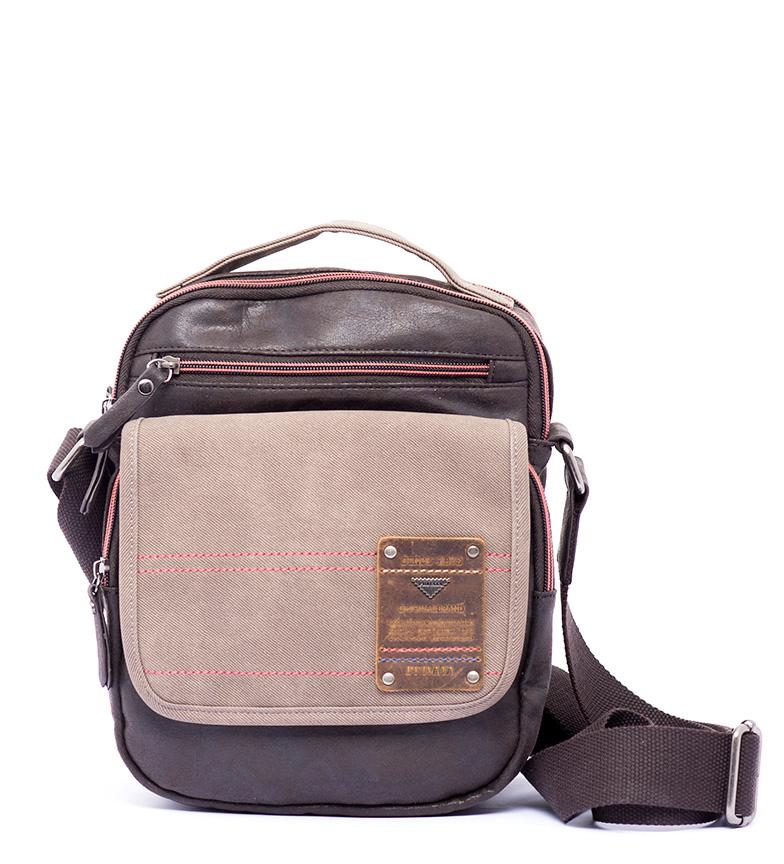 Comprar Privata Bolso bandolera Switch marrón -29x19x10cm-