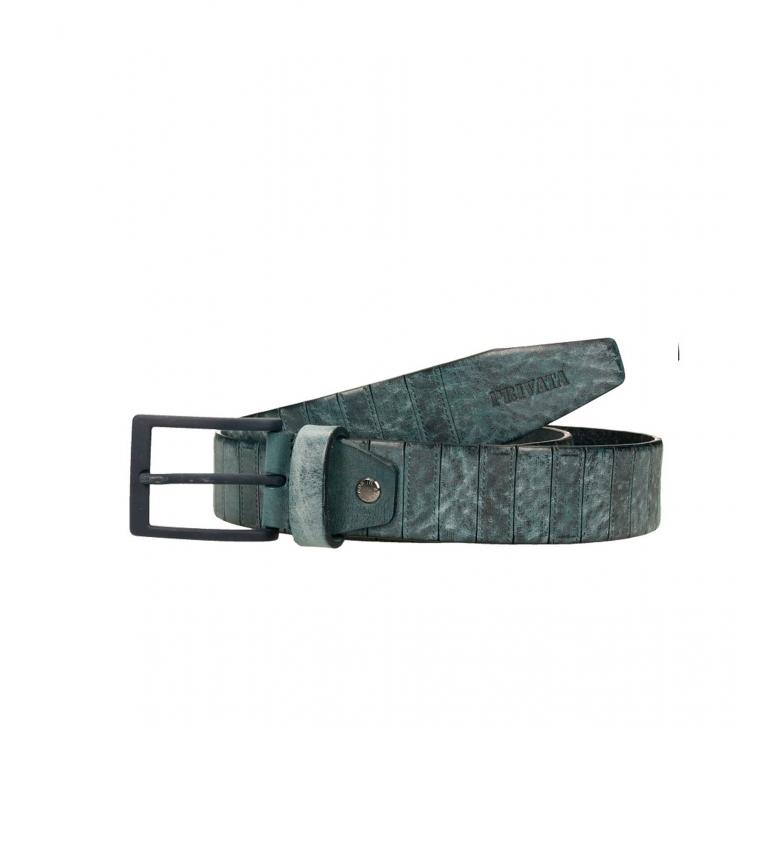 Comprar Privata CIPR73605 cintura in pelle blu