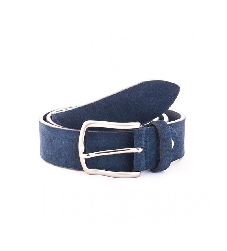 Comprar Privata CIPR73621 cintura in pelle blu