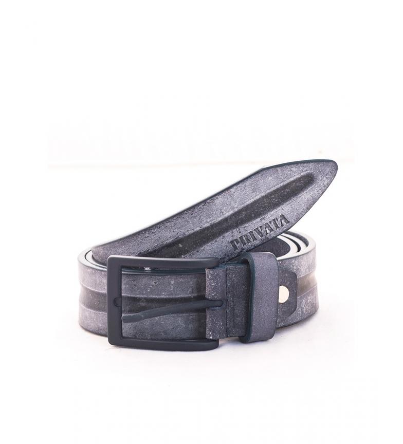 Privata Leather belt CIPR73624 blue