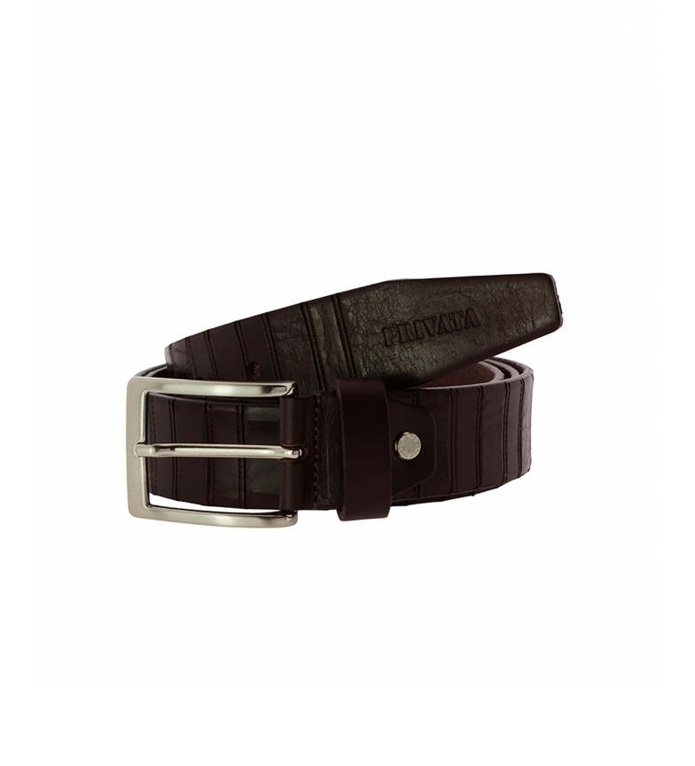 Privata Leather belt CIPR73203 brown