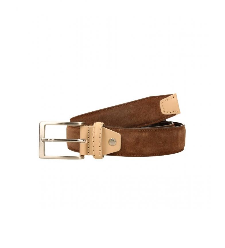 Privata Leather belt CIPR73607 brown
