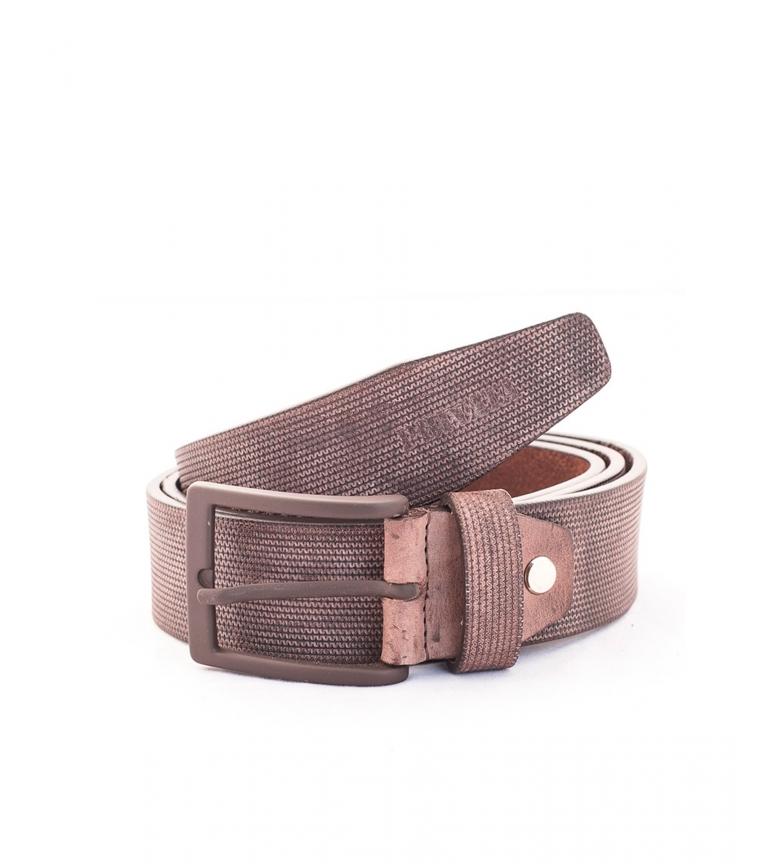 Comprar Privata CIPR73625 cintura in pelle marrone