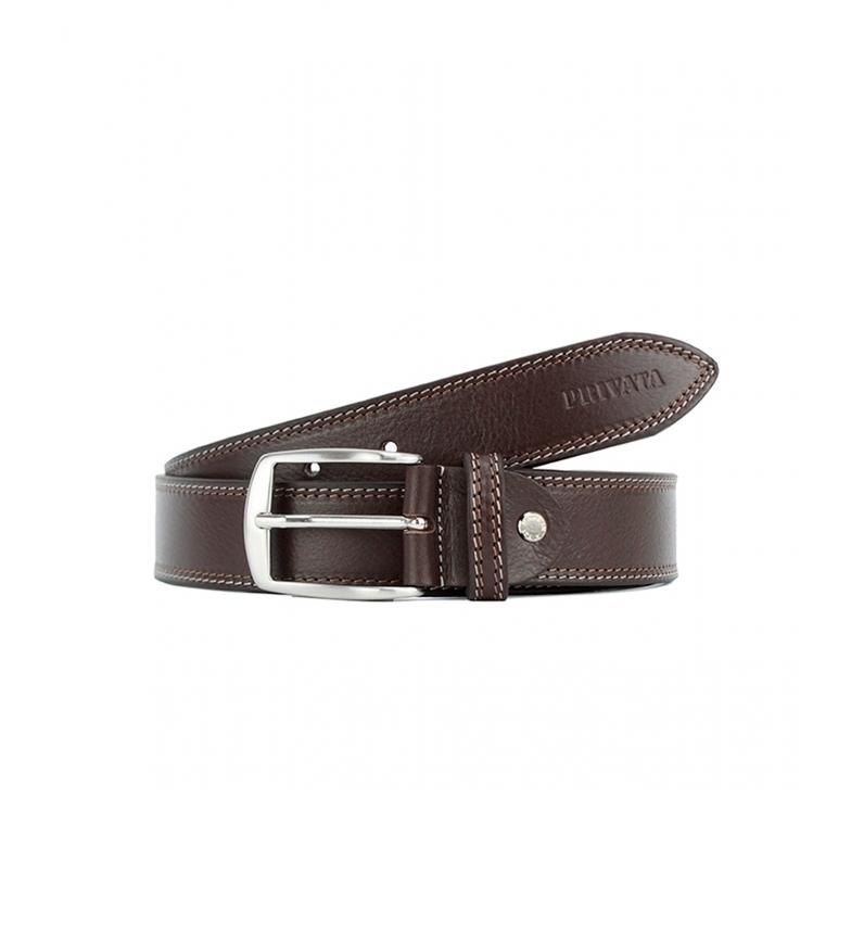 Privata Leather belt CIPR79003 brown