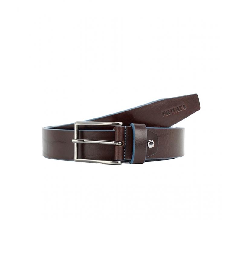 Comprar Privata CIPR79004 cintura in pelle marrone