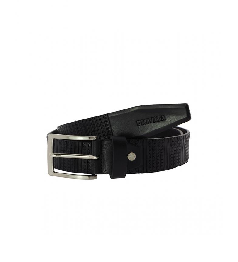 Comprar Privata CIPR73204 cintura in pelle nera