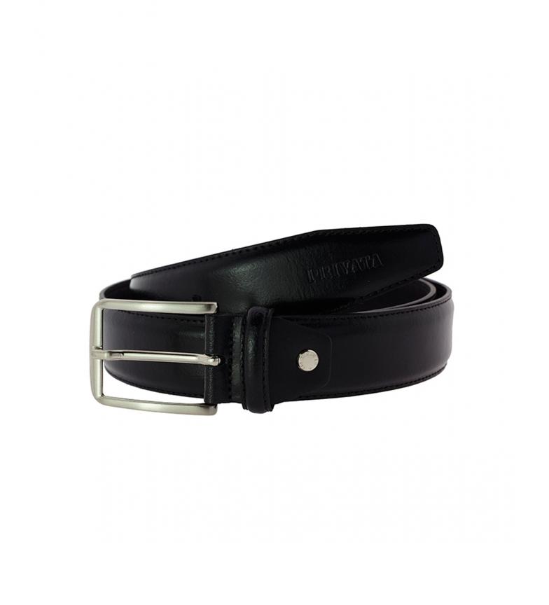 Privata Cinturón de piel CIPR73513 negro