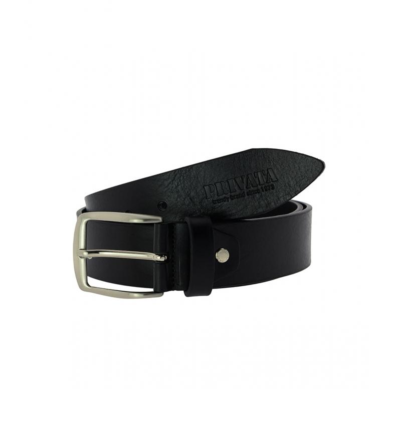 Comprar Privata Cintura in pelle CIPR73517 nera