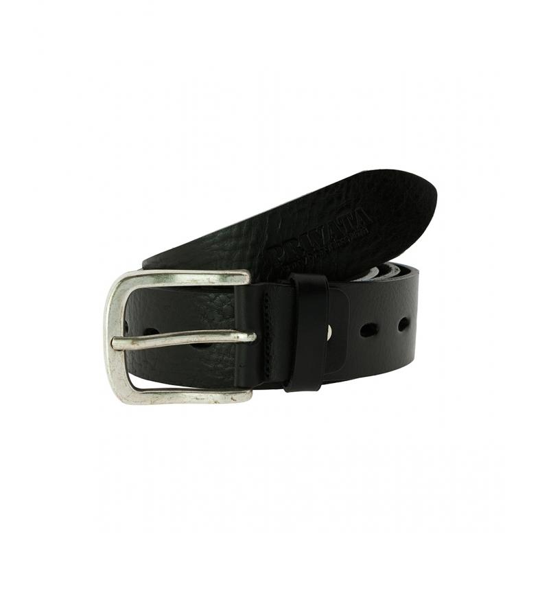 Privata Leather belt CIPR74005 black