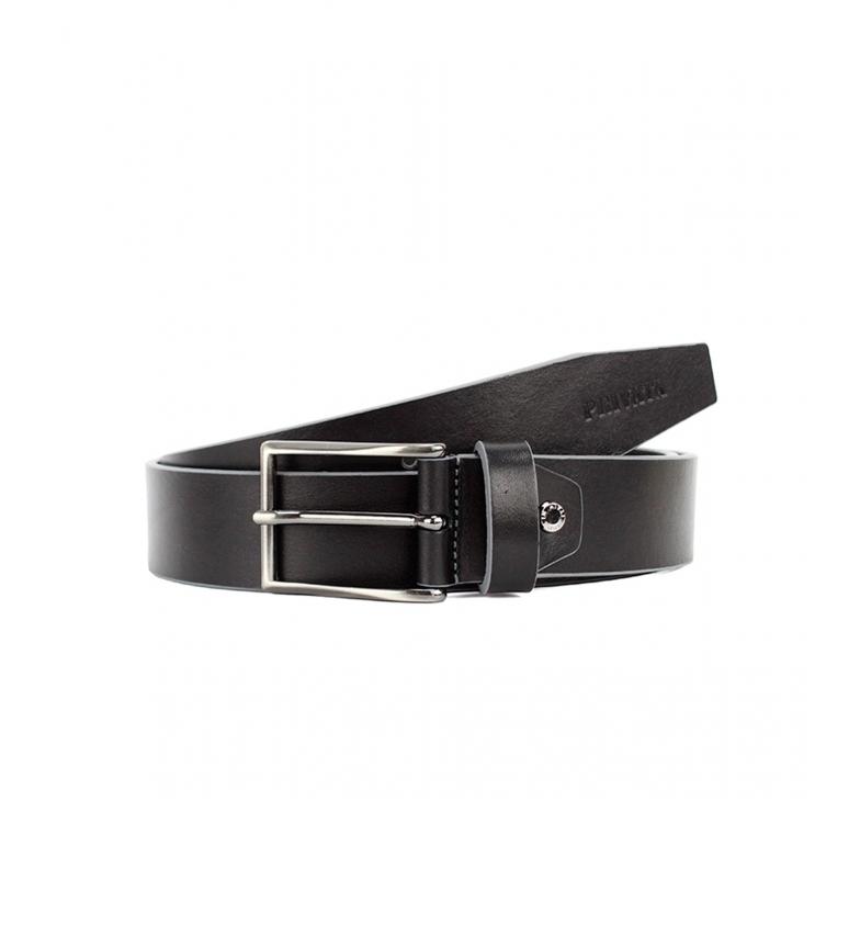 Comprar Privata CIPR79004 cintura in pelle nera