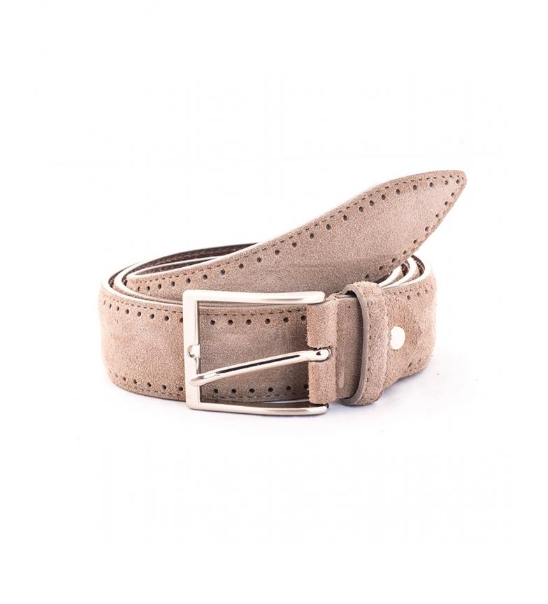 Privata Leather belt CIPR73620 taupe