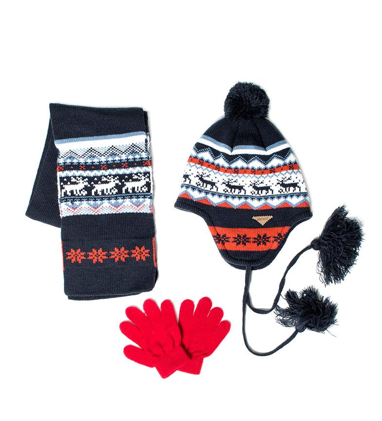 Comprar Privata Set hat, gloves, scarf Bear sea
