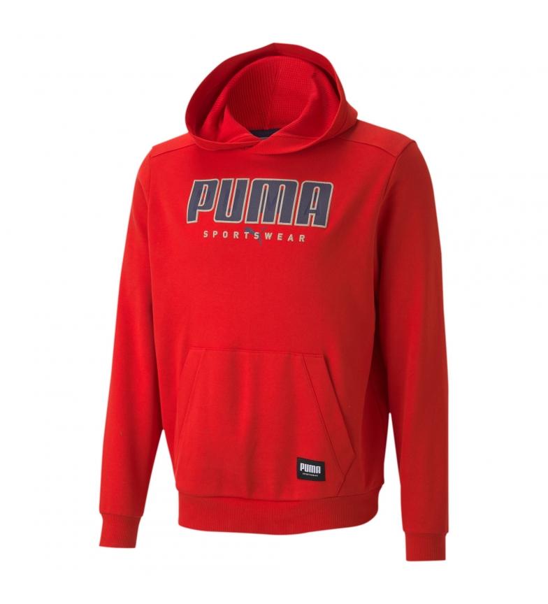 Puma Sudadera Athletics FL rojo