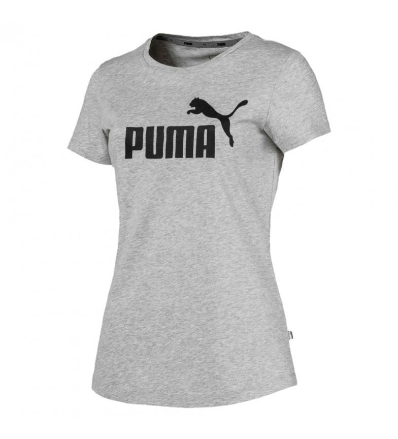 Comprar Puma Essentials T-shirt com o logotipo da Essentials, cinza