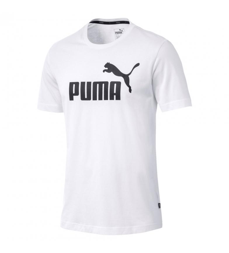 Comprar Puma Essentials Short Sleeve Logo T-Shirt branca