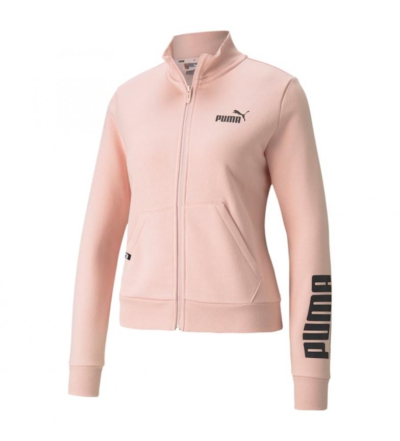 Puma Puma Power Logo Track FL Jacket pink