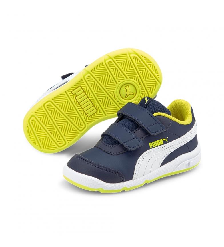 Comprar Puma Stepfleex 2 SL VE V scarpe blu navy, bianche