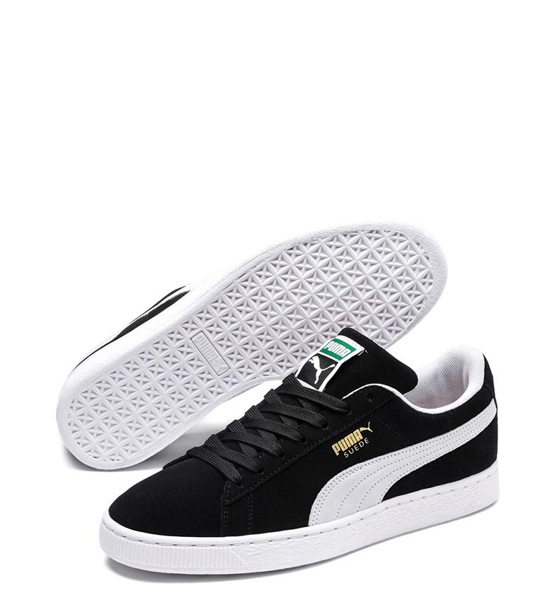 Comprar Puma Clássico camurça + sapatos de couro preto