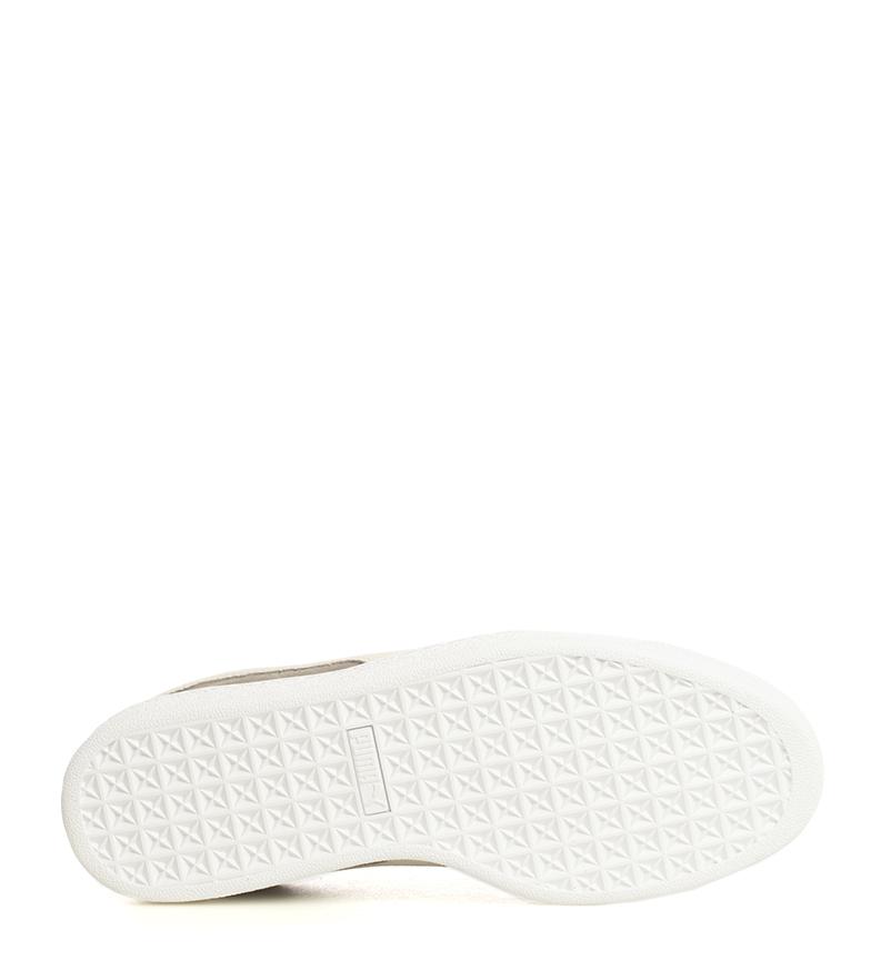 Puma-Sneakers-en-cuir-Suede-Classic-Plat-Lacets-Casuel