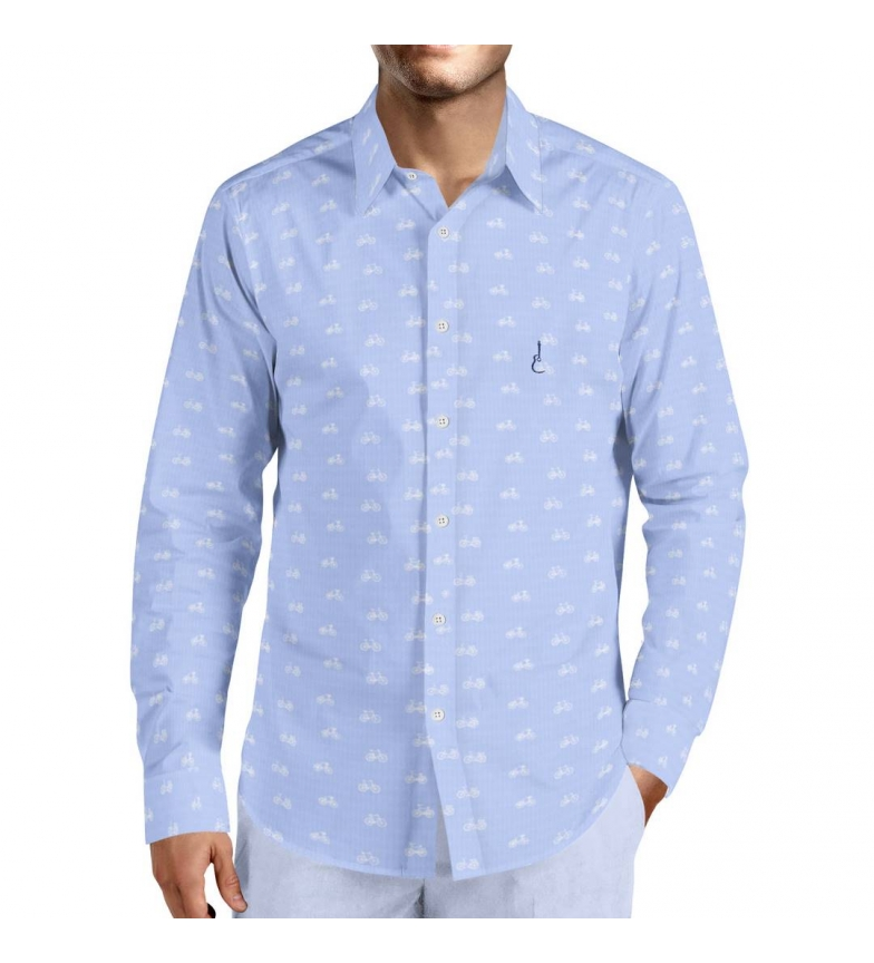 Comprar Puro Arte Bicycle shirt blue