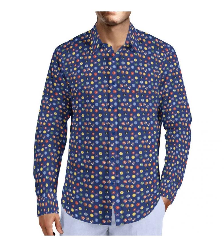 Comprar Puro Arte Camisa Billar marino