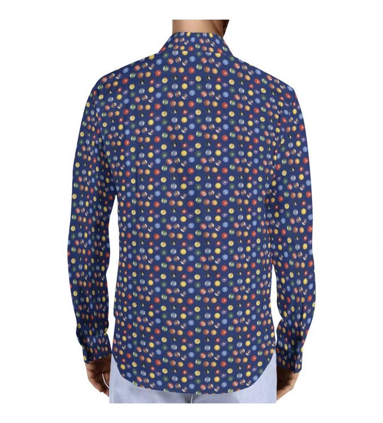 Camisa Puro Arte Camisa Arte Billar Puro Marino Marino Billar nN8wOP0Xk