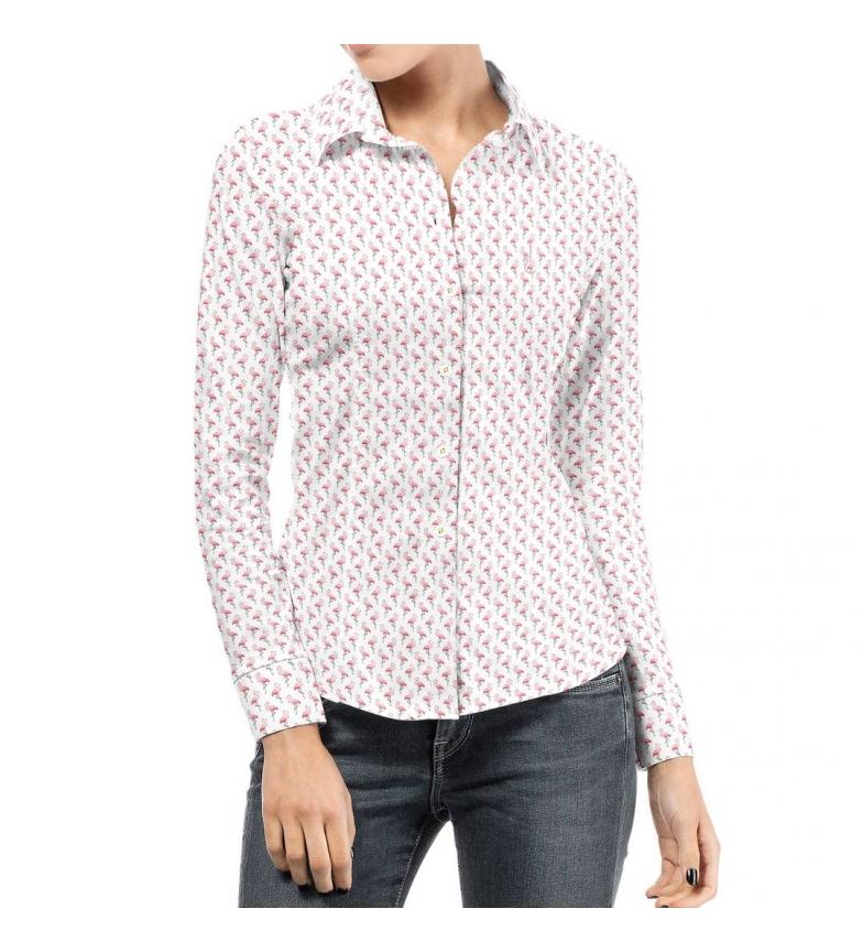 Comprar Puro Arte Camicia bianca Flamenkines