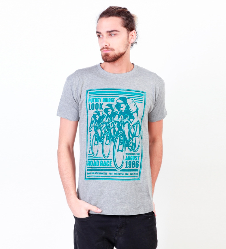 Putney Bridge Camiseta Durham Blanco nyeste billig pris nedtelling pakke online billig høy kvalitet bestemt p7kyMv1E