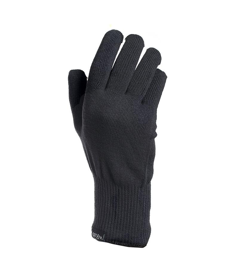 Comprar Rab Guanti in maglia elasticizzata nero