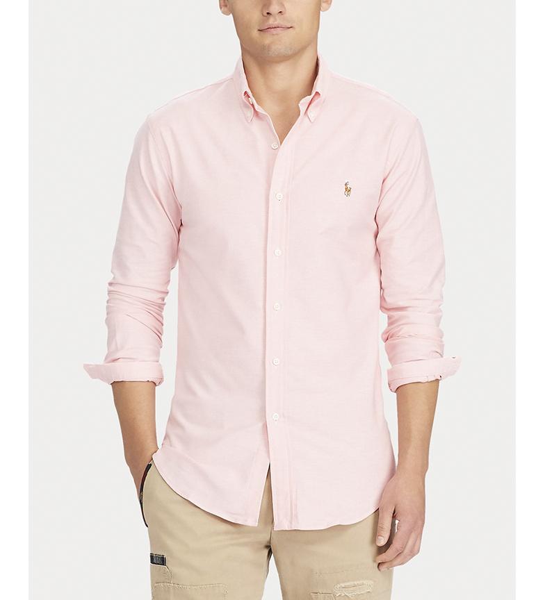Comprar Ralph Lauren Camicia Oxford Slim Fit Rosa