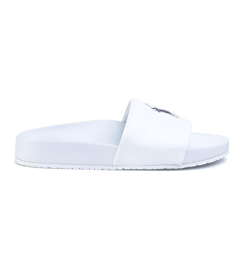 Comprar Ralph Lauren Flip Flop Sandals Cayson with white Horse