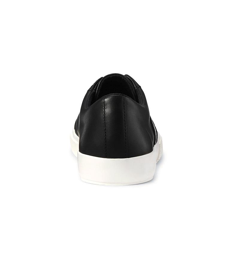 Ralph Lauren Janson II black leather sneakers