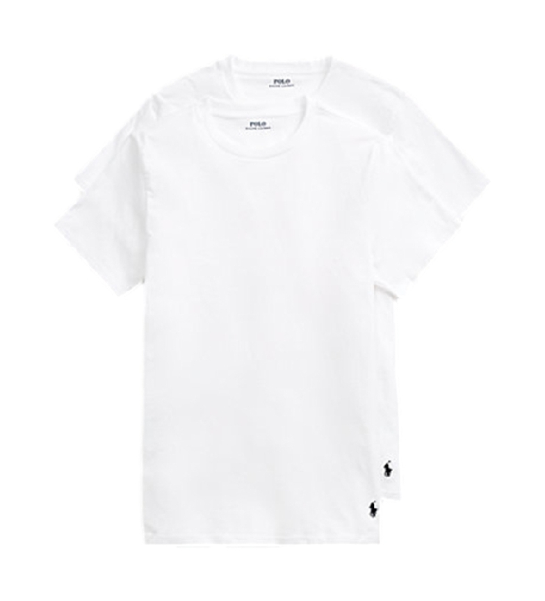 Comprar Ralph Lauren Pack de 2 Camisetas Classic Crew Undershit blanco