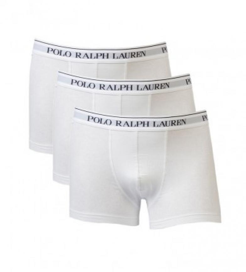 Comprar Ralph Lauren Lot de 3 boxers blancs Classic