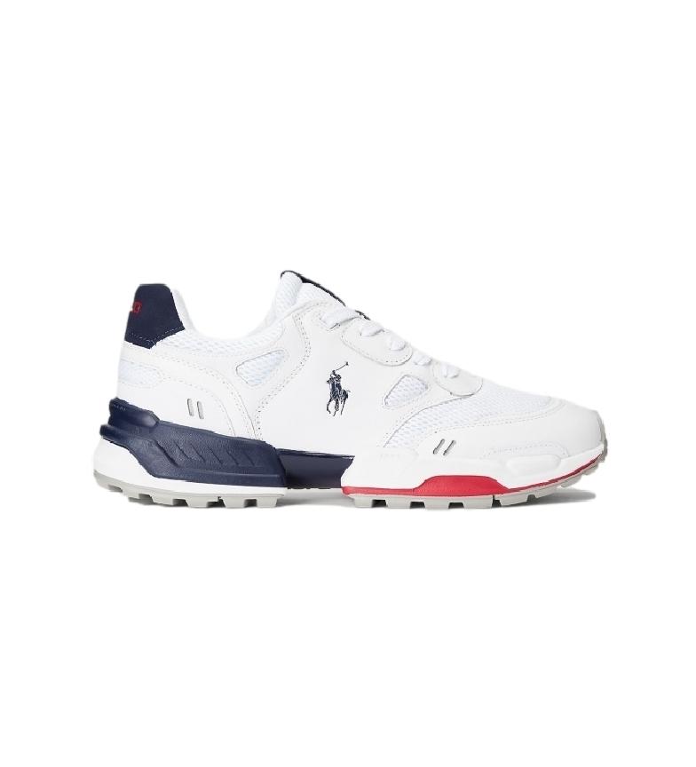 Comprar Ralph Lauren Jogger sneakers couro branco, marinha