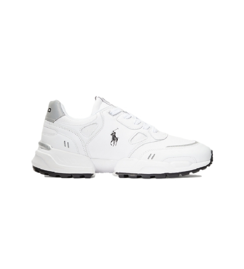 Ralph Lauren Court leather sneakers white