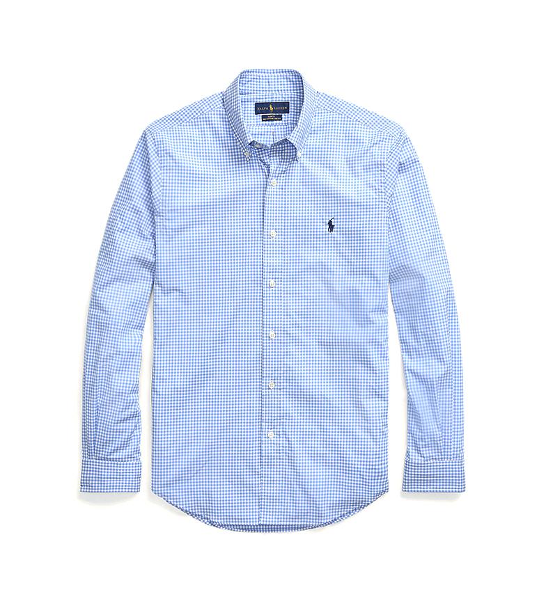 Comprar Ralph Lauren Camicia slim fit in popeline blu