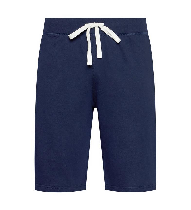 Ralph Lauren Pantaloncini da notte slim blu navy