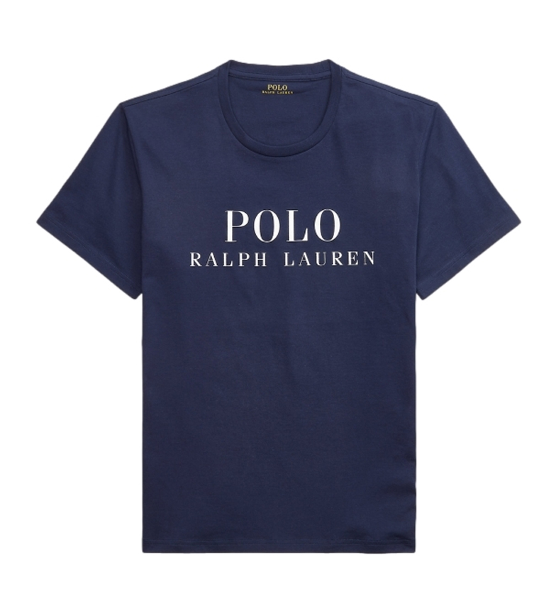 Ralph Lauren T-shirt Round Neck Sleep navy