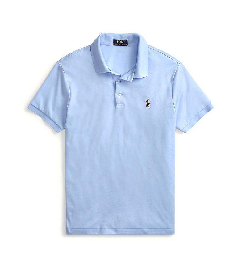 Comprar Ralph Lauren Polo de corte slim suave azul