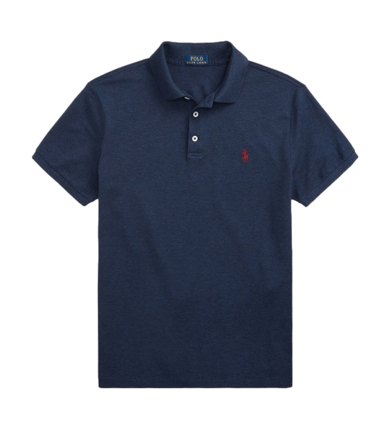 Comprar Ralph Lauren Slim Fit Pique Polo SSKCSLM1 navy