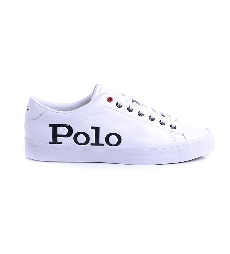 Comprar Ralph Lauren Longwood leather sneakers white